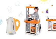 Set kuchyňka pro děti Bon Appétit Chef Smoby s lednicí a kávovarem a rychlovarná konvice Tefal