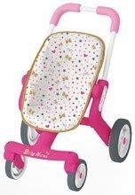 Kočárky od 18 měsíců - Baby nurse kočárek Poussette Pop sportovní Smoby sportovní, výška rukojeti 53,5 cm, od 18 měsíců_1