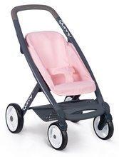 Vozički za dojenčke - Voziček 3v1 Powder Pink 3in1 Maxi Cosi&Quinny Smoby globoki in športni ter prenosljiva posteljica za 42 cm dojenčka_4