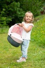 Vozički za dojenčke - Voziček 3v1 Powder Pink 3in1 Maxi Cosi&Quinny Smoby globoki in športni ter prenosljiva posteljica za 42 cm dojenčka_8