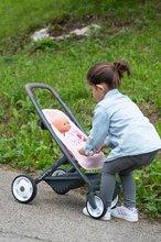 Vozički za dojenčke - Voziček 3v1 Powder Pink 3in1 Maxi Cosi&Quinny Smoby globoki in športni ter prenosljiva posteljica za 42 cm dojenčka_15