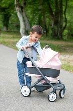Vozički za dojenčke - Voziček 3v1 Powder Pink 3in1 Maxi Cosi&Quinny Smoby globoki in športni ter prenosljiva posteljica za 42 cm dojenčka_19