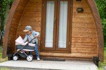 Vozički za dojenčke - Voziček 3v1 Powder Pink 3in1 Maxi Cosi&Quinny Smoby globoki in športni ter prenosljiva posteljica za 42 cm dojenčka_21