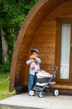 Vozički za dojenčke - Voziček 3v1 Powder Pink 3in1 Maxi Cosi&Quinny Smoby globoki in športni ter prenosljiva posteljica za 42 cm dojenčka_22