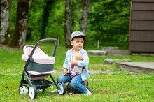 Vozički za dojenčke - Voziček 3v1 Powder Pink 3in1 Maxi Cosi&Quinny Smoby globoki in športni ter prenosljiva posteljica za 42 cm dojenčka_23