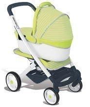 Kočíky od 18 mesiacov - Kočík pre bábiku 3v1 Maxi Cosi & Quinny Smoby (66,5 cm rúčka) zeleno-šedý_0