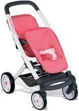 Cărucior pentru păpuşi gemene Trio Pastel Maxi Cosi&Quinny Smoby roz