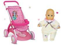 Kolica za lutke setovi - Set sportska kolica za lutku Princeze Disney Smoby s lutkom na poklon_0