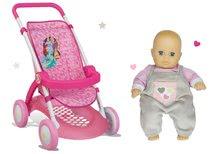 Kolica za lutke setovi - Set sportska kolica za lutku Princeze Disney Smoby s lutkom na poklon_1