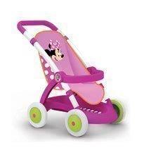 Dětský kočárek pro panenku Minnie Smoby sportovní (58 cm ručka) od 18 měsíců
