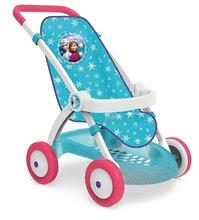 Smoby športový kočiar pre bábiku Frozen 254045 modrý