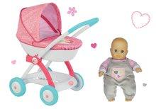 Kolica za lutke setovi - Set duboka kolica za lutku od 42 cm Princeze Disney Smoby i lutka s odjećom_1