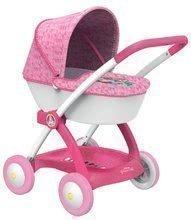 Hlboký kočík pre bábiku Disney Princezné Smoby 254111 ružový