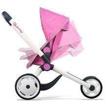 Kočík pre bábiku Maxi Cosi & Quinny Jogger Smoby športový polohovateľný ružový