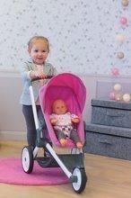 Kočíky pre bábiky sety - Set kočík pre bábiku Maxi-Cosi & Quinny Smoby (70 cm rúčka) a stolička, hojdačka a autosedačka pre bábiku_3