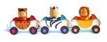 Dětská chodítka - Set chodítko Trott Cotoons 2v1 Smoby zelené s kostkami, světlem a melodií a autíčka Imagin Car Cotoons_4