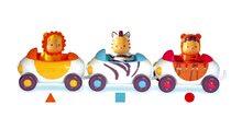 Dětská chodítka - Set chodítko Trott Cotoons 2v1 Smoby zelené s kostkami, světlem a melodií a autíčka Imagin Car Cotoons_6