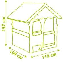 Domčeky so šmykľavkou - Set domček Máša a medveď Smoby s kvetináčom a šmykľavka Toboggan Funny vlnkovitá s dĺžkou 2 m od 24 mes_15