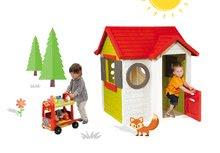 Smoby 810400-13 set domček My House s elektronickým zvončekom a vozík so zmrzlinou a hamburgermi d 2 rokov