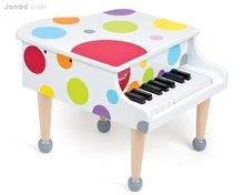 JANOD 07627 fa nagy zongora CONFETTI GRAND PIANO zenélő 3-8 éves korig