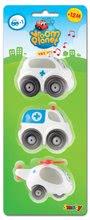 Staré položky - Záchranárske autíčka Vroom Planet Smoby elektronické 3 ks dĺžka 7 cm od 12 mes_4