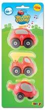 Staré položky - Sada 3 hasičských autíčok Vroom Planet Smoby elektronické dĺžka 7 cm od 12 mes_4
