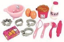 Set za peko Hello Kitty Écoiffier s 17 dodatki od 18 mes
