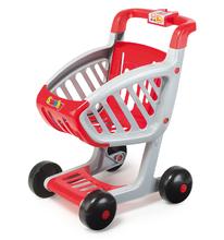 Obchody pre deti - Obchod SuperMarket Smoby s vozíkom a 49 doplnkami_15