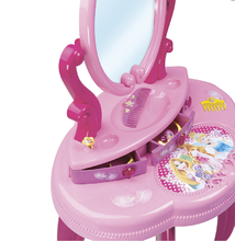Kozmetické stolíky sety - Set kozmetický stolík Disney Princezné 2v1 Smoby so stoličkou a servírovací vozík s raňajkovou súpravou_10