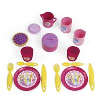 Kozmetické stolíky sety - Set kozmetický stolík Disney Princezné 2v1 Smoby so stoličkou a servírovací vozík s raňajkovou súpravou_6