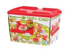 Kuchynky pre deti sety - Set kuchynka CookMaster Verte Smoby s ľadom a zvukmi a čajová súprava s táckou_6