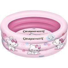 MONDO 16042 Charmmy Kitty nafukovací bazén trojkomorový, 150 cm
