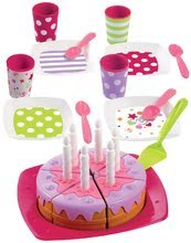 Nádobí a doplňky do kuchyňky - 2613 e ecoiffier torta set