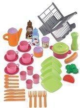 Kuchynky pre deti sety - Set kuchynka Tefal Studio XL Smoby s umývačkou riadu a chladničkou a sušička na riad Bubble Cook_6