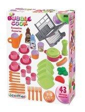 Kuchynky pre deti sety - Set kuchynka Tefal Studio XL Smoby s umývačkou riadu a chladničkou a sušička na riad Bubble Cook_7