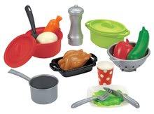 Riadíky a doplnky kuchynky - Súprava na obed 100 % Chef Écoiffier so 47 doplnkami od 18 mes_1