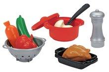 Riadíky a doplnky kuchynky - Súprava na obed 100 % Chef Écoiffier so 47 doplnkami od 18 mes_2