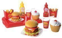 2623 a ecoiffier hamburger set