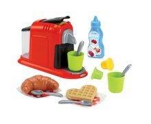 Hry na domácnosť - Set upratovací vozík s elektronickým vysávačom Vacuum Cleaner Smoby a vaflovač s mixérom kávovarom a hriankovač s vajíčkami_12