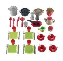 Nádobí a doplňky do kuchyňky - Souprava nádobí Pro Cook Écoiffier v tašce 51 doplňků od 18 měsíců_0