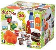 Hry na domácnosť - Set upratovací vozík s elektronickým vysávačom Vacuum Cleaner Smoby a elektronická pokladňa s potravinami a ovocím a zeleninou_18