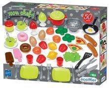 Posodice in dodatki za kuhinje - Živila in posodica za kuhinje 100% Chef Ecoiffier 50 vrst od 18 mes_0