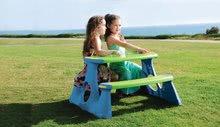 Detský záhradný nábytok - Stôl na hranie Starplast s dvoma lavicami_0