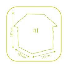 Domčeky sety - Set domček Máša a medveď Smoby s kvetináčom a stôl Piknik s úložným priestorom od 24 mes_11