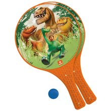 Plážový tenis Dobrý Dinosaurus Mondo s 2 raketami a loptičkou