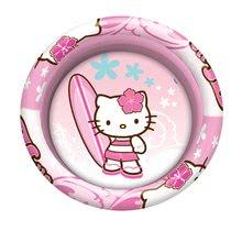 Piscine pentru copii - Piscină gonflabilă cu trei inele Hello Kitty Mondo 100 cm de la 10 luni_0