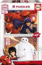 EDUCA 16336 cardboard puzzle Big Hero 6, 2x48ks