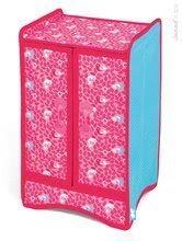 Skříň pro panenku do 36 cm Birdy Paradise Janod textilní s věšáky od 2 let růžová