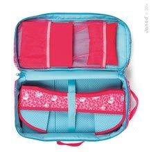 Postieľky a kolísky pre bábiky - Postieľka pre bábiku 36 cm Birdy Paradise Janod textilná v kufríku s perinkou od 24 mes_4