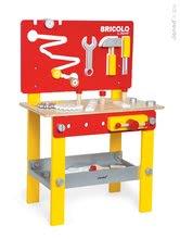 JANOD 06494 fa mágneses szerelőasztal Redmaster Bricolo M 68 cm 24 kiegészítővel 3-8 éves korig